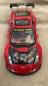 Toyota Celica 1/24 scale car 2003 Kentoys, RED