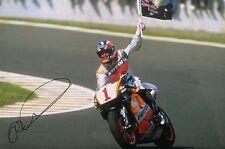 Mick Doohan signed Moto GP 12x8 photo Image B UACC Registered Dealer