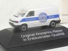 selten: Herpa Sondermodell VW T4 Kasten Kronprinz Räder in OVP