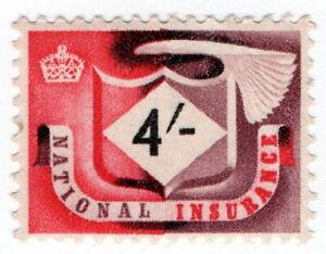 (I.B) Elizabeth II Revenue : National Insurance 4/-