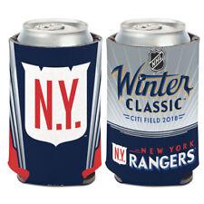 2018 Winter Classic New York Rangers Can Cooler 12 oz. NHL Koozie