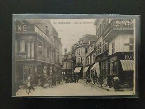 CPA - Bourges - Rue du Commerce - Cher - 18 - Très belle carte !!!!