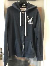 Abercrombie&fitch Muscle Hoodie Blue Size L