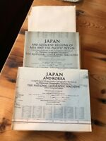 WWII Maps and more Lot of World Maps 1930's-50's National Geographic