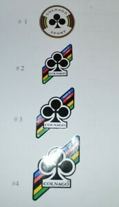 Decals stickers head tubes Colnago Columbus , 4 options on your choice