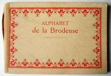 Alphabet de la Brodeuse. - Bibliothèque DMC.