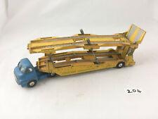 CORGI MAJOR # 1101 BEDFORD CARRIMORE CAR TRANSPORTER TRUCK LORRY DIECAST BLUE