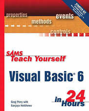 Sams Teach Yourself Visual Basic 6 in 24 Hours, Perry, Greg Book