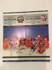 NHL  41ST  ALL-STAR GAME & ALL-STAR SATURDAY CIVIC ARENA  1990 2 TICKET STUB LOT