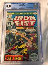 Iron Fist #1 CGC 8.0 Iron Fist First Issue Of Series Marvel Steel Serpent