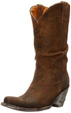 New no box Old Gringo Women's Sharpei Slouch Boot Rust Size 8.5 B US Retail $475