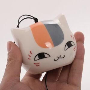 Japanese Natsume Yuujinchou Cartoon Cat Wind Bell Wind Chime Car Pendants