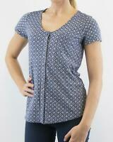 NEW Fat Face Ladies Navy Ditsy Floral Top RRP £35 Now £15 **Save £20**