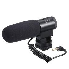 Condenser Microphone Shotgun Mic For All DSLR Camera Video Camcorder Canon K9Q8