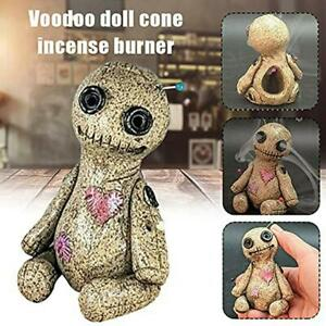 Voodoo Doll Burner Incense Burner Desktop Resin Ornaments Ideas Handmade GOOD
