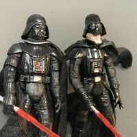 "2x Star Wars 2003 & 2005"" Darth Vader Revenge Of The Sith ROTS 3.75"" Figure Toy"