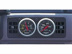 For 1987-1993 Ford Mustang Gauge Cage Auto Meter 36679CG 1992 1990 1989 1988