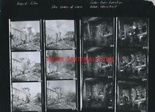 """Sam Peckinpah The Cross Of Iron Original 10x12"""" Contact Sheet Photo #M6805"""