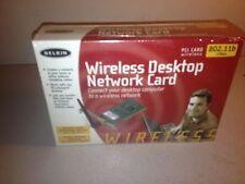 Belkin Wireless Notebook Network Card PCI Card 802.11b Version 2101