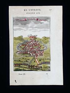 1683 A.M. MALLET: France, Besançon, Bourgogne-Franche-Comté, Dijon, Doubs...