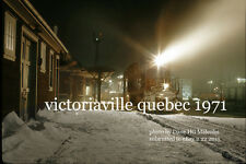 Canadian National Rwy station Victoriaville Quebec  Danville Subdivision 1971 a