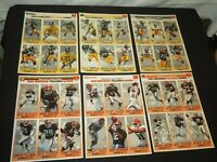 CLEVELAND BROWNS PITTSBURGH STEELERS Gameday football cards 1993  Team sets