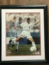 """Authentic Mia Hamm Hand Signed Poster (Steiner Collectibles) """"Striking the Ball"""""""
