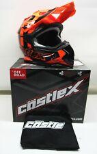 Castle X Youth Flo Orange Mode MX Helmet - 35-2868