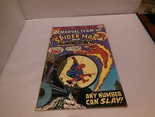 Marvel Team Up # 39 Comic Book Spider-man Human Tortch Marvel Comics