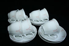 Schumann Arzberg porcelain china 17-piece set of cup and saucers