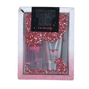 Victoria's Secret Eau So Sexy 2 Piece Mist Body Lotion Gift Set Damaged Box New