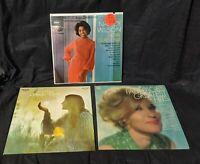3 Lot A+ cond Vtg LP Women Female Vocalist Nancy Wilson Patti Page Mary Frances