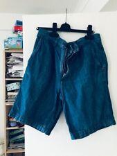 APC Denim Chambray Shorts 30inch Waist Blue