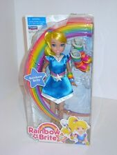 2009 Playmates Toys Rainbow Brite 25 Years Anniversary Doll NRFB in Box RARE