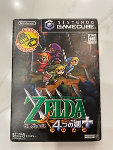 The Legend of Zelda: Four Swords Adventures - Nintendo Gamecube, 2004 - TESTED