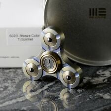 We Knife Spinner Titanium S02B Bronze Fidget Toy ADHD