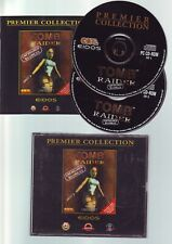 TOMB RAIDER 1 UNFINISHED BUSINESS - 1998 PC GAME - ORIGINAL JC EDITION + MANUAL