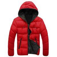 Abrigo con capucha de para hombre chaqueta chamarras camperas de frio nieve