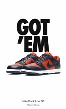NIKE DUNK LOW SP CHAMP University Orange Marine (MEN'S SIZE 11) New In Box