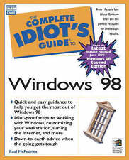 The Complete Idiot's Guide to Microsoft Windows 98, McFedries, Paul, New Book
