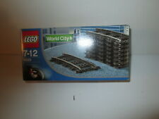 Lego 4520 World City Curved 9V Tracks Railroad Train NIB Sealed Vintage 1991