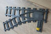 *** ORIGINAL Lego Eisenbahn RC Schienen 1 Weiche links NEU 60052 60197 60198