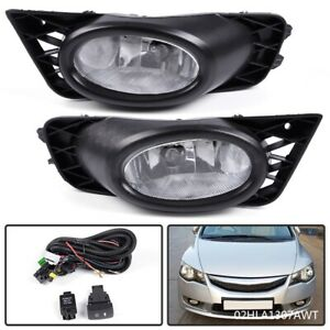Right Side For 2009-2010 Honda FIT Sport Fog Light Lamp Assembly PAIR Left