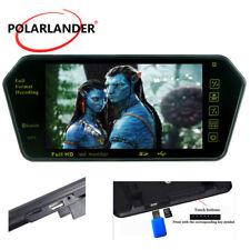 "7"" Car Rear View Mirror Monitor Mp5/FM/USB/TF Built-in Bluetooth HD TFT LCD Slot"