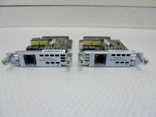 X 2 CISCO WIC -1 SHDSL-V3 scheda di interfaccia WAN. Modulo, laboratorio, spedizione gratuita in UK