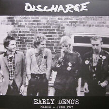 Discharge ‎– Early Demo's March - June 1977 LP / New Vinyl (2011) Hardcore Punk