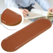 Leather Handcrafted Single Fountain Pen Pencil Bag Holder Storage Sleeve Pouch