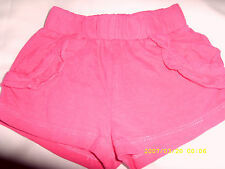 Unbranded No Pattern 100% Cotton Girls' Trousers & Shorts (0-24 Months)
