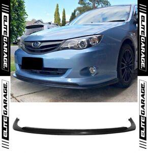 (CS STYLE) Front Bumper Lip (08-10) For Subaru Impreza WRX G3 Narrow Body