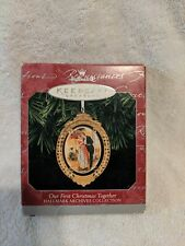 "Hallmark Keepsake Ornament ""Our First Christmas Together"" 1998 New"